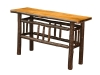 1419-Lumber Jack Sofa Table-HH