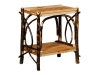 1421-Checkerboard End Table-HH