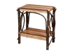 1460-End Table with Solid Shelves-HH
