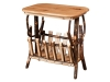 1465-End Table-Magazine Rack-HH