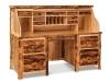 Log Rolltop Desk-Open-Aspen-FS
