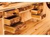 Log Rolltop Desk-Interior-Aspen-FS
