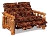 Log Reclining Love Seat-Reclined-Aspen-FS