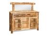Log Sideboard: Aspen-FS