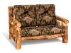 Log Love Seat-Aspen-FS