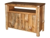 LR723-PP: Log Open TV Stand-FS