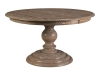 525-Roanoke Pedestal Table-NW