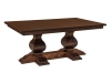 Barrington Double Pedestal Table-WP