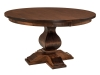 Barrington Single Pedestal Table-WP