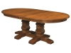 D-12 Bradbury Double Pedestal Table-NW