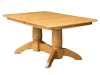 D-20 Tuscan Double Pedestal Table-NW