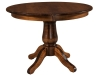 Easton Single Pedestal Table-WP