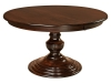 Kingsley Single Pedestal Table-WP