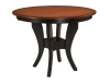 Imperial Single Pedestal Pub Table-WP