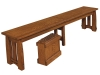 Colebrook Bench: Detail-WP
