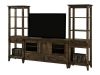 Bungalow TV Stand with Towers: SC-60T-SZ