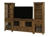 Rio Mission Tv Stand with Towers: SC-3257T-SZ